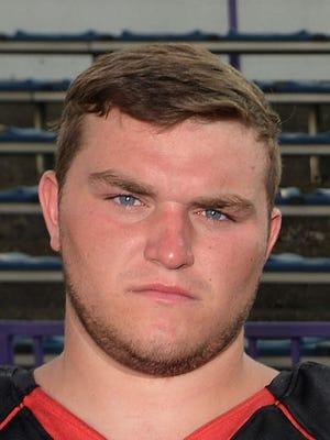Preston Runser, Northwestern lineman/kicker