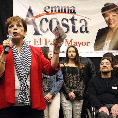 City Rep. Emma Acosta is joined by family members as