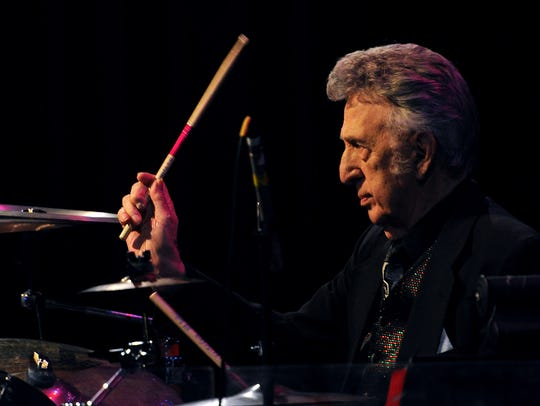 Rock and Roll Hall of Fame drummer D.J. Fontana performs