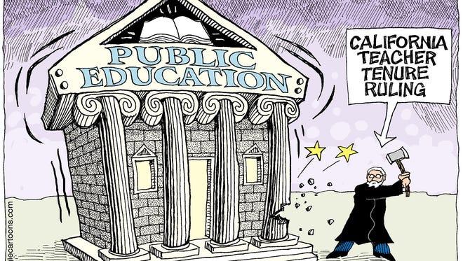 Monte Wolverton, Cagle Cartoons, drew this editorial cartoon.