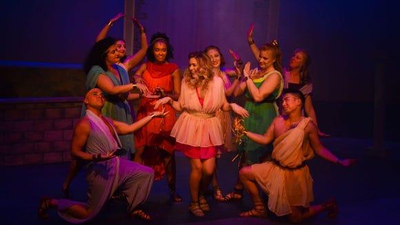 """Xanadu"" skates its way into Bainbridge Performing Arts May 4 for a three-weekend stay."