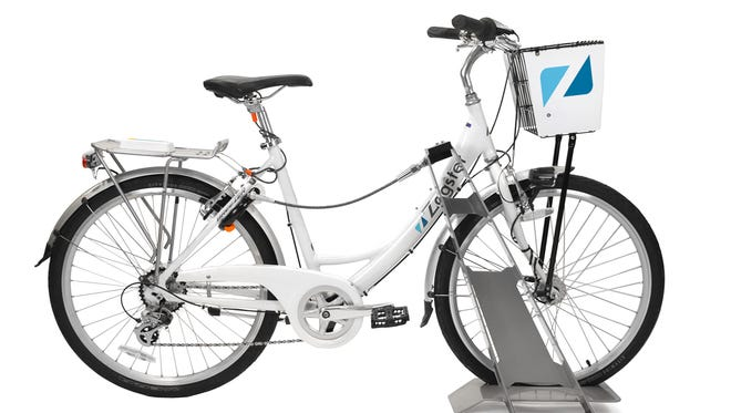 """Zagster """"smart bikes"""" would have locking technology directly on the bike, rather than on racks or kiosks."""