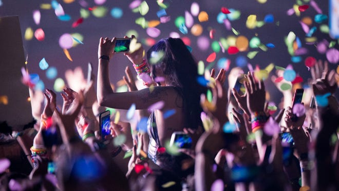 EDM fans danced and sang the night away at Phoenix Lights Festival on April 8, 2018, at Rawhide.