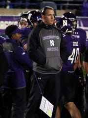 Pat Fitzgerald and Northwestern have dropped four in