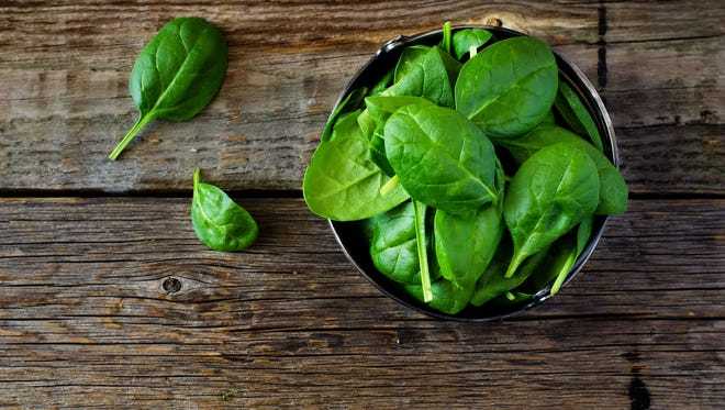 This green leafy vegetable is packed with nutrients.