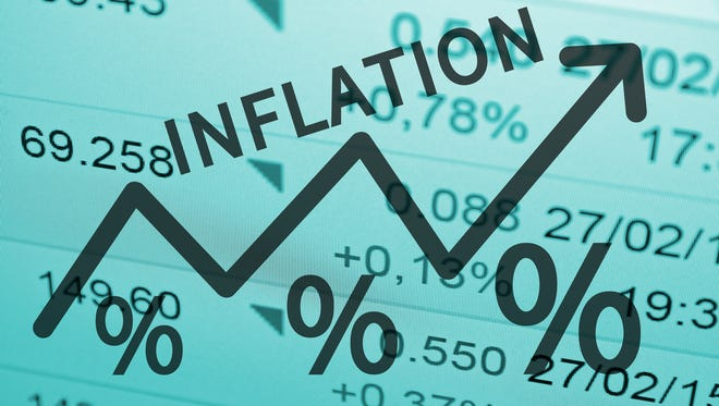 Inflation is the rate at which the price of goods and services rises. With inflation, the purchasing power of money declines