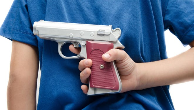 About 1,300 children a year die as the result of a firearm.