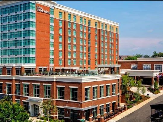 The Hilton Garden Inn Nashville Downtown/Convention
