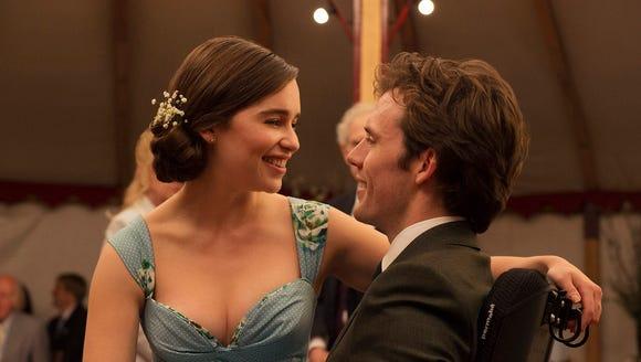 Emilia Clarke and Sam Claflin in 'Me Before You.'