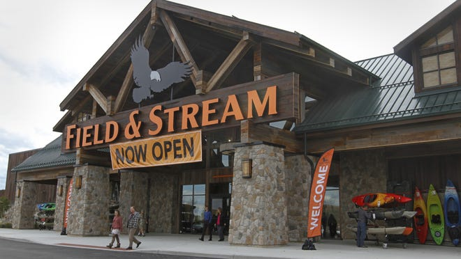 A 55,000-square-foot Field & Stream store opened at Marketplace Mall in October.