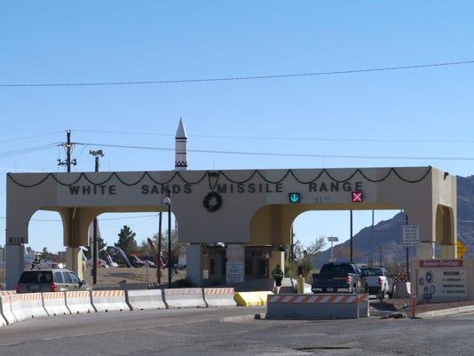 WSMR main gate