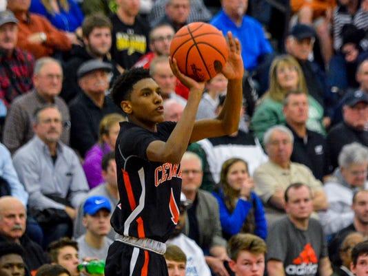Central York vs Spring Grove York-Adams Basketball