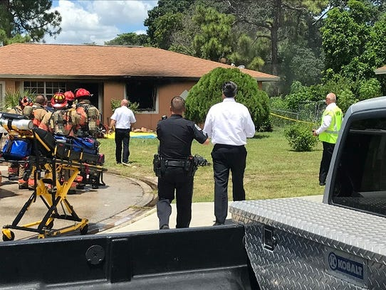 A body was found after firefighters responded to a