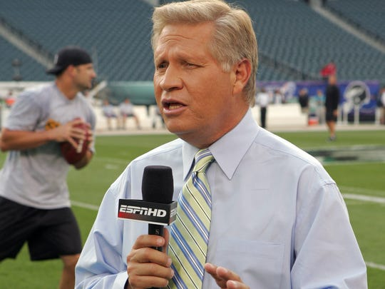 ESPN reporter Chris Mortensen recently announced he's