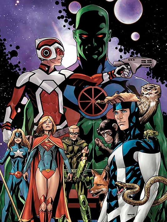 Justice League United cover