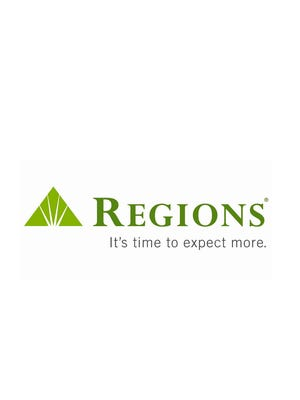 A Regions Bank logo.