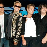 Van Halen plays Darien Lake on Aug. 25.