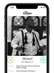 The League dating app launched in Nashville this week for high-achieving individuals