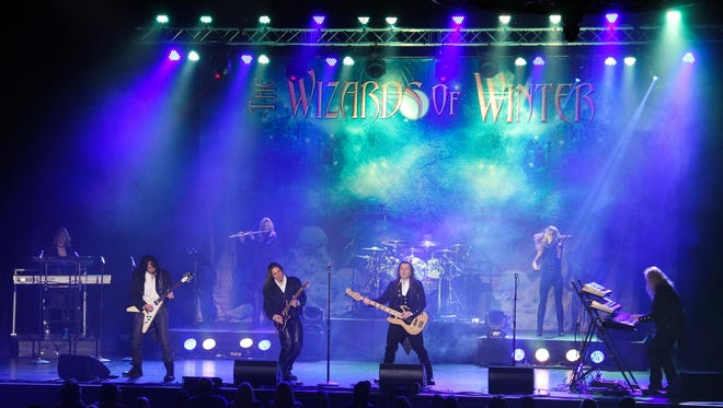 The Wizards of Winter perform Friday in Binghamton.
