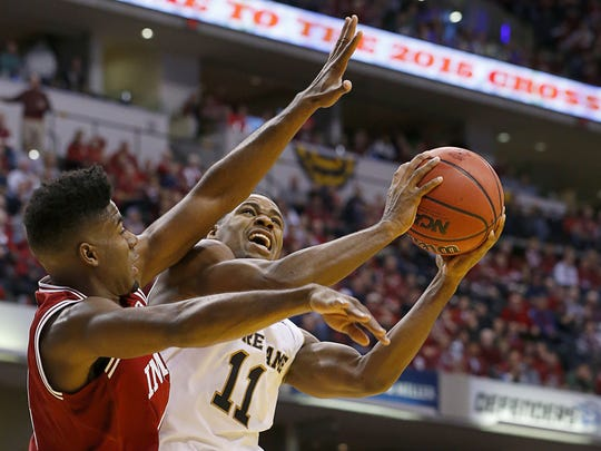 In need of point guard help, Demetrius Jackson (right) could interest the Pacers.