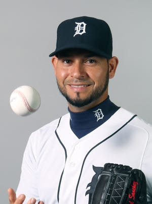 Tigers starting pitcher Anibal Sanchez