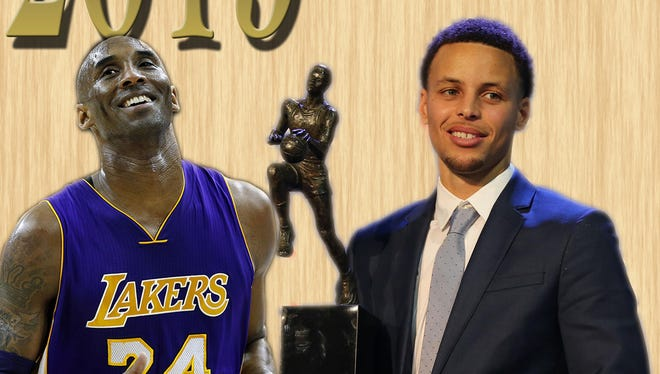 A look back at 2015 in the NBA, where Kobe Bryant announced his retirement and Stephen Curry won his first MVP award.