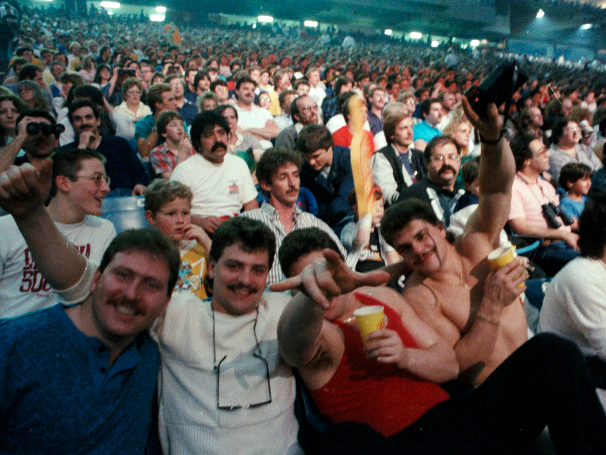 WrestleMania III is considered the day that professional
