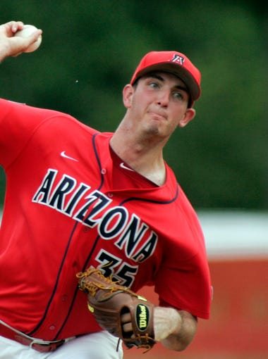 50 former Arizona high school baseball players were on the rosters of teams competing in the 2016 NCAA Baseball Tournament when it began. After the Super Regional round, 10 Arizonans remain. Take a look at each.