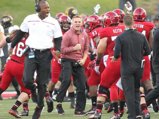 Arkansas State has two big matchups, first against
