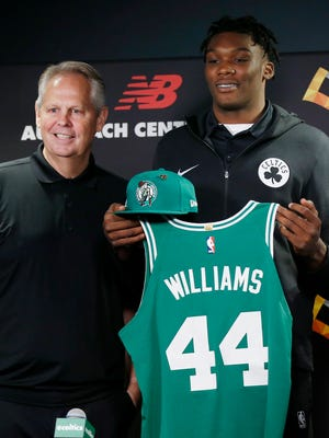Celtics draft pick Robert Williams has gotten off to a rocky start with the team.