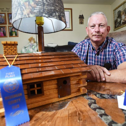 Jerry Moore's woodworking hobby earned him first place