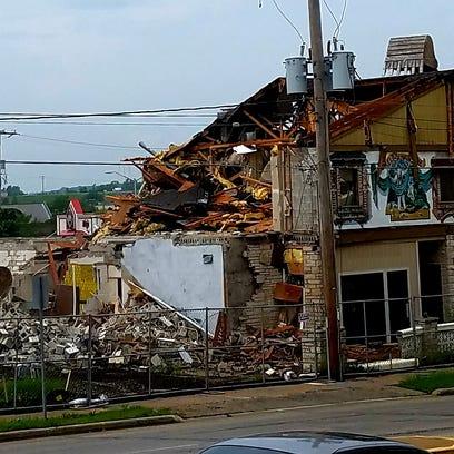 Waukesha's iconic Gasthaus restaurant demolished; new strip mall will replace it