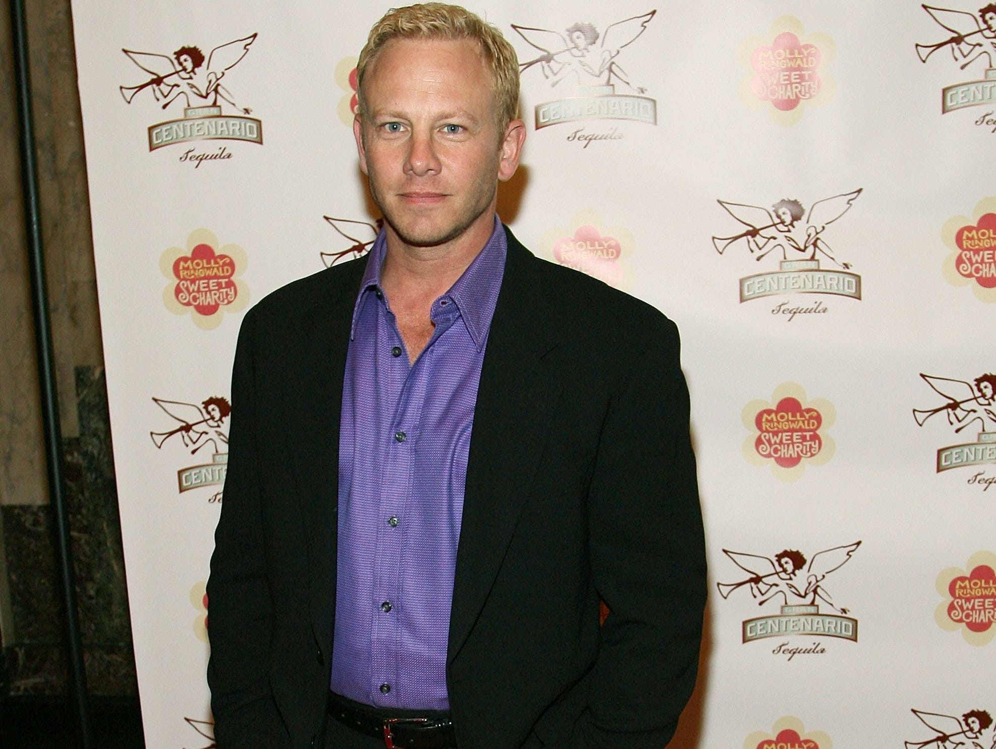 Ian Ziering then: If you think about it, Ziering's shift from Hollywood C-lister to Las Vegas Chippendale isn't that trouser-dropping of a surprise: Remember how slick '90210's Steve Sanders was?