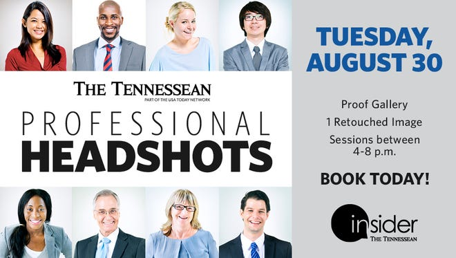 Book your professional headshot session today.
