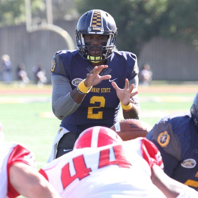 Murray State quarterback KD Humphries led the NCAA