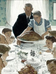 Norman Rockwell's famous painting was first published