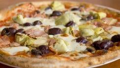 Capricciosa pizza from Cibo in Phoenix.