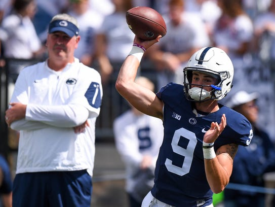 Penn State Nittany Lions quarterback Trace McSorley