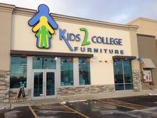 Kids 2 College grand opening features golden egg hunt