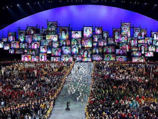 USP OLYMPICS: OPENING CEREMONIES S OLY BRA