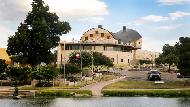 The San Angelo Museum of Fine Arts sits along the Concho River.