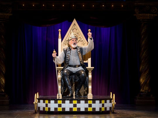 "John Rubenstein, who originated the title role in the original Broadway production of ""Pippin,"" appears in the revival tour as Charlemagne."