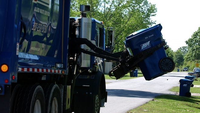 Residential garbage and recycling collection will happen on Mardi Gras day for customers in Lafayette Parish whose regular collection day is Tuesday.