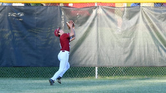 Asheville Post 70 outfielder Holden Upright makes a