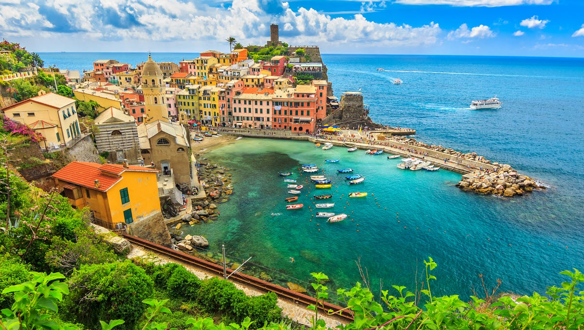 The charming villages of Italy's Cinque Terre