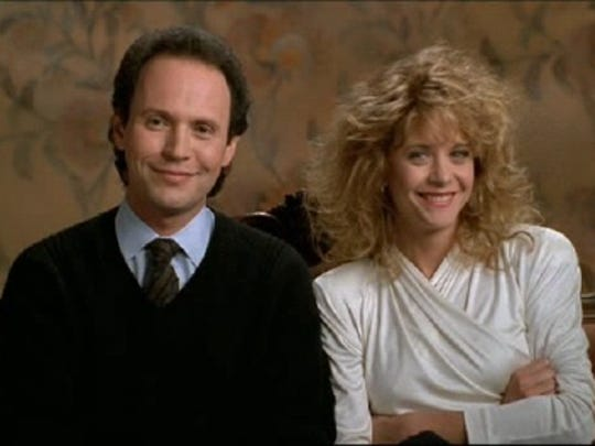 """Billy Crystal and Meg Ryan star in the 1989 film """"When"""