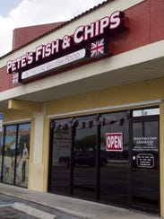 Pete's Fish & Chips opened in Cape Coral in 2012.