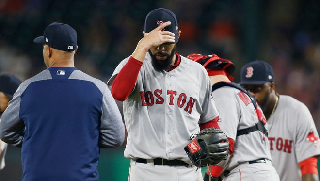 Red Sox pitcher David Price has struggled to a 2-4 record and 5.11 ERA over his first seven starts this season.