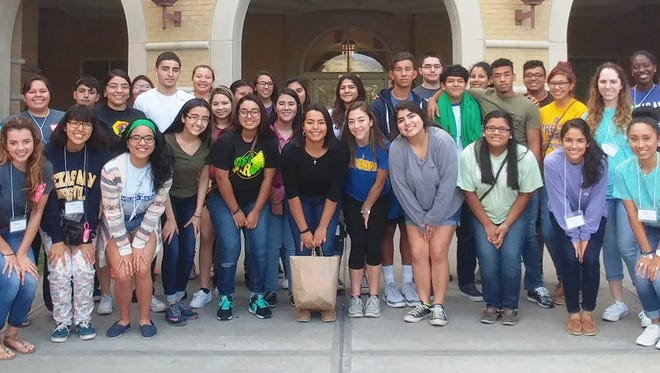 Students from Moody and Carrol high schools participated in the Society of Women Engineers STEM Conference at Texas A&M University-Kingsville