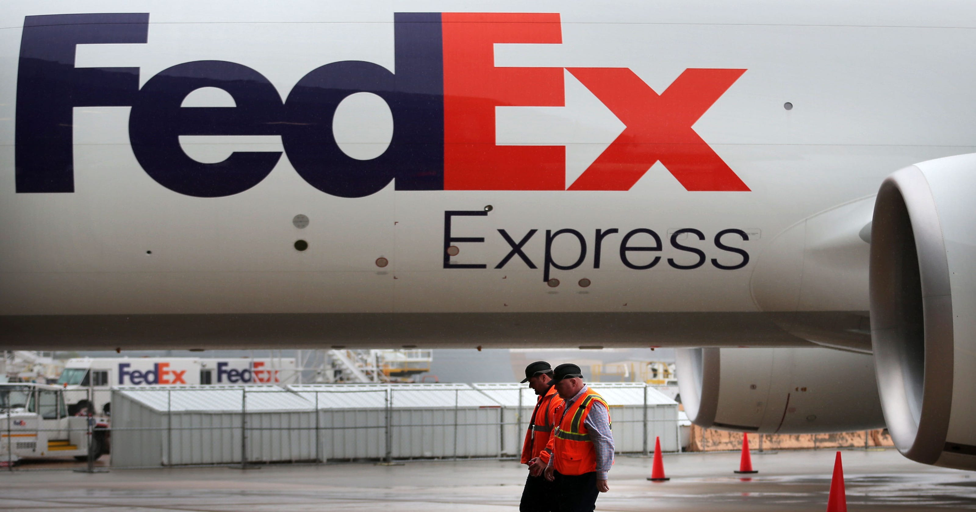 analysts weigh impact of new amazon delivery move on fedex ups usps